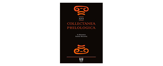 """Collectanea Philologica"" w bazie ERIH PLUS"